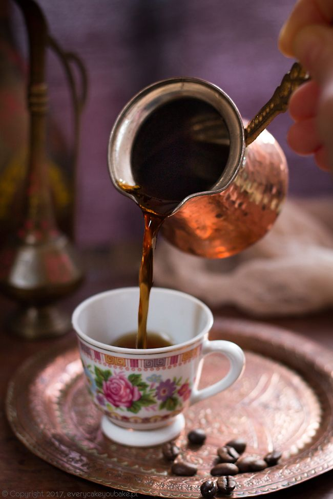 Kawa po turecku, Turkish coffee #kawa #coffee #Turcja #turkishcoffee
