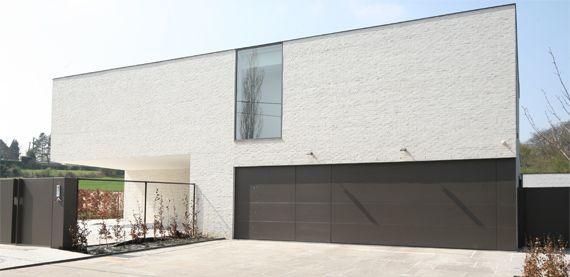 brique blanche hogevest witte gevelsteen ipv crepi exterieur pinterest vests. Black Bedroom Furniture Sets. Home Design Ideas