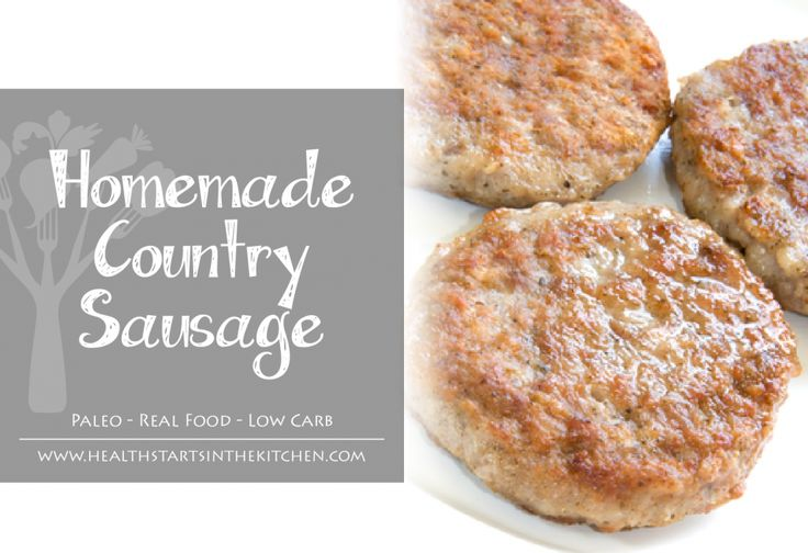 Homemade Country Sausage Seasoning by Health Starts in the Kitchen - Real Food, Healthy, Low Carb, Keto