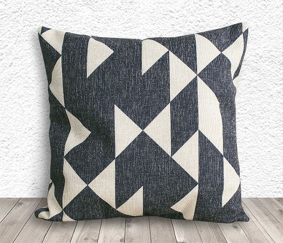 Pillow Cover Geometric Pillow Geometric Pillow by 5CHomeDecor