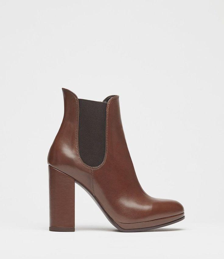 Chelsea Boots Damen Rena braun