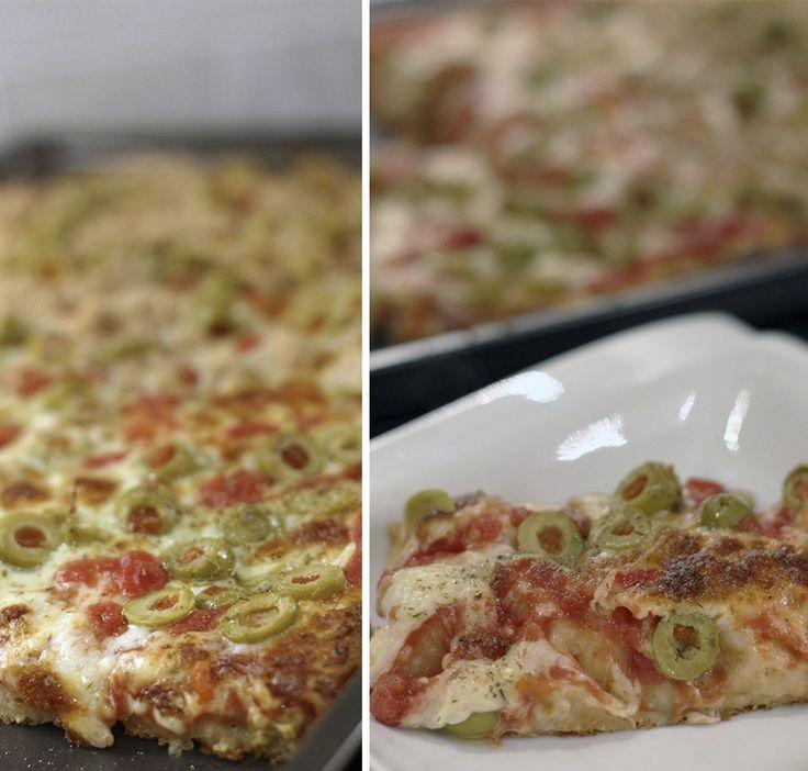 Pizza Estilo Siciliana grossa
