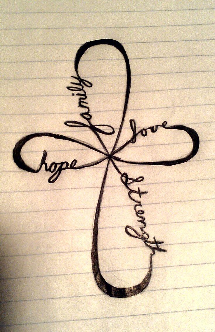 Family, Love, Strength, Hope.