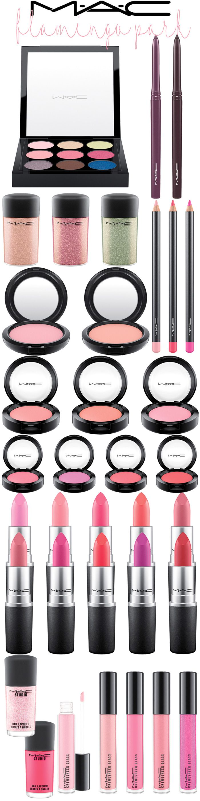 Spring 2016: MAC Cosmetics Flamingo Park Collection