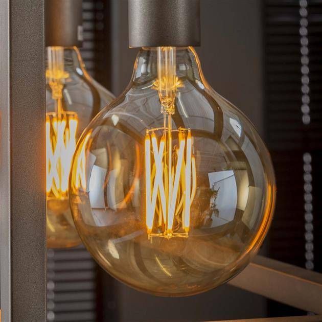 Led Light Bulb Marble O12 5 Cm Amber Light Bulb E27 Led Led