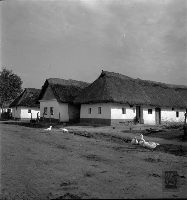 Őrhalom - falurészlet, 1939  Fotó: Fényes Dezső