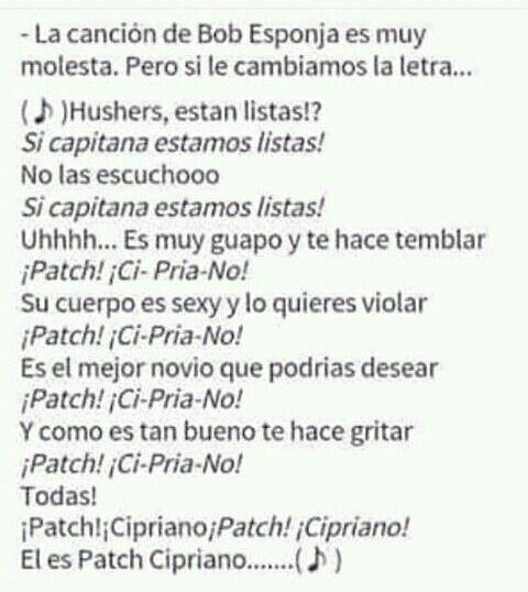 Jajaja  La canción de Patch