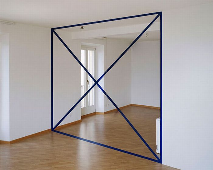 Geometric Illusionary Perspective Paintings - My Modern Metropolis