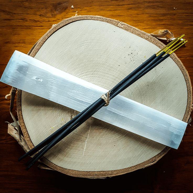 Selenite Incense Stick Holder