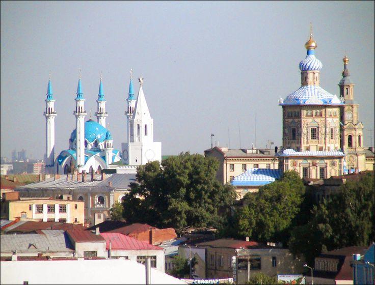 Vista de la ciudad de Kazan