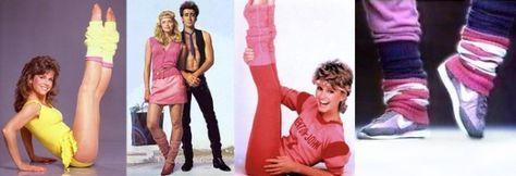 Moda anni 80, i mitici scaldamuscoli