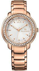 Tommy Hilfiger rose gold tone stainless steel ladies watch 1781468