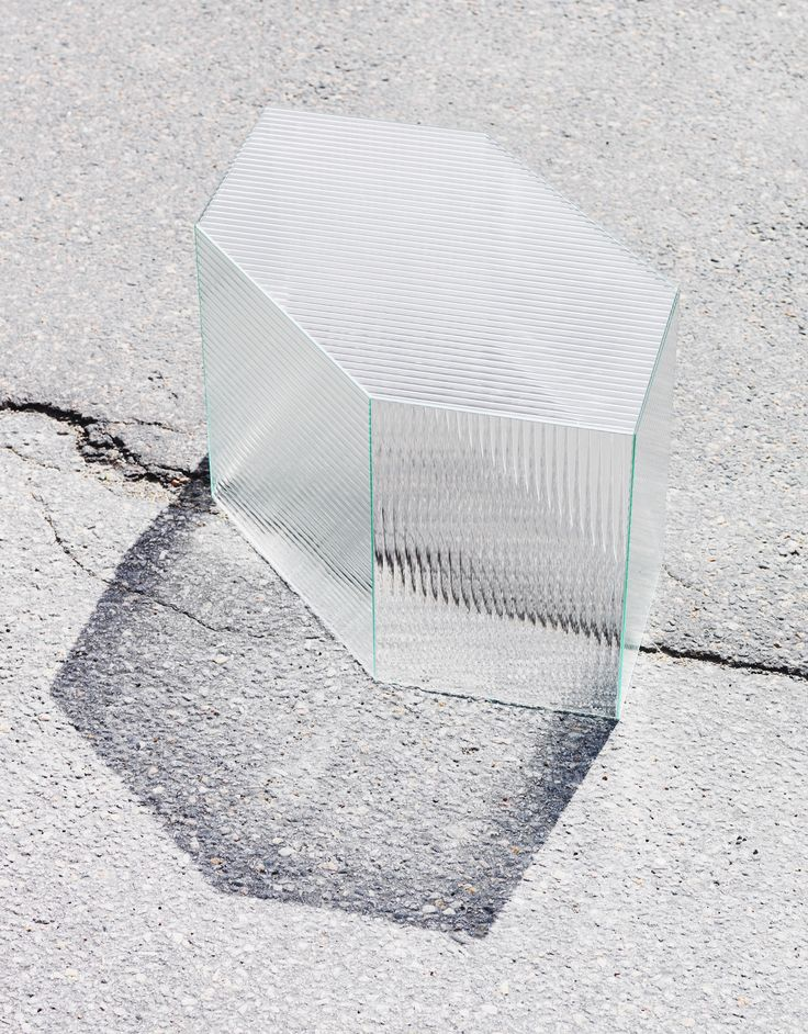 Reeded Glass is a minimal design created by Sweden-based designer Staffan Holm.
