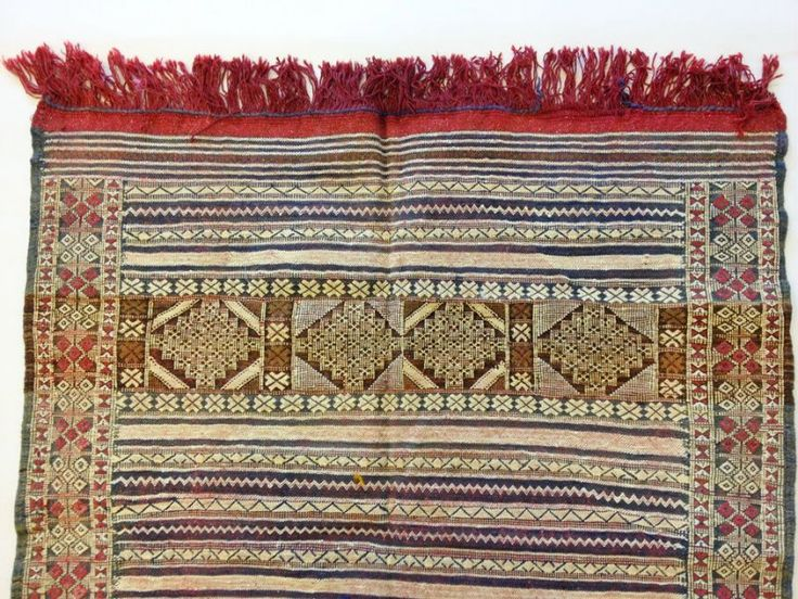 Kelim Marokkaanse Berber tapijt 170 x 122 cm