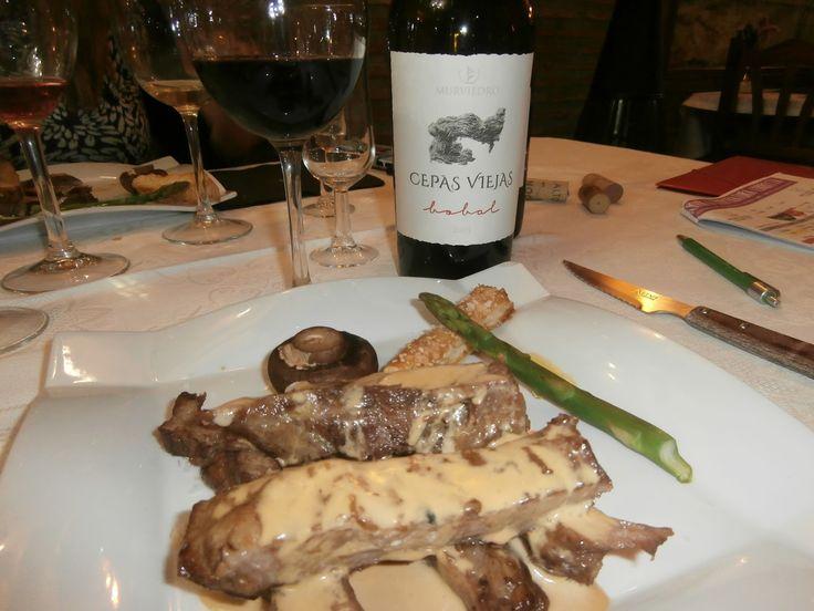 Enogourmet, Vinos y Gastronomía.: 1ª Cena maridaje en restaurante Milán, Requena (Valencia)