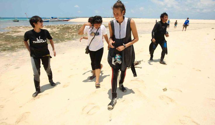 Pasir Putih Pantai Rajuni, Selayar, Sulawesi Selatan, Indonesia