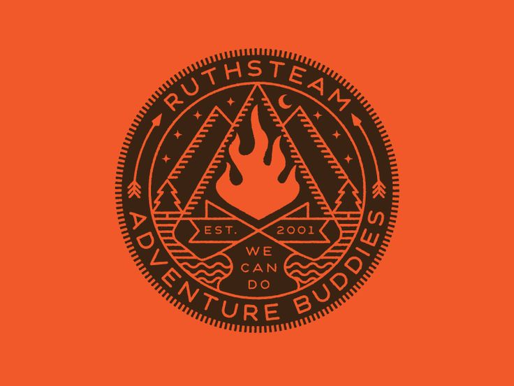 Ruthsteam Badge Final by Brian Steely