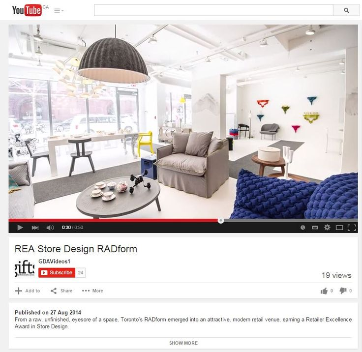 Came across this video from the REA Awards. This was the video announcement of RADform as a winner at the award ceremony. Such an exciting moment for us. http://youtu.be/gnaDIKZ7k44 #RADform #interiordesign #award