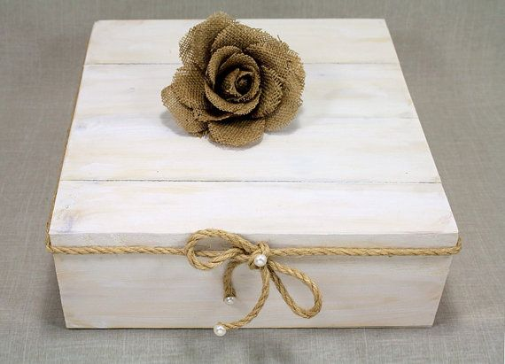 Rustic Chic Square Wedding Cake Stand. Jute Twine by DazzlingGRACE, $65.00