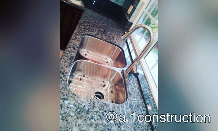 Beautiful kitchen sink