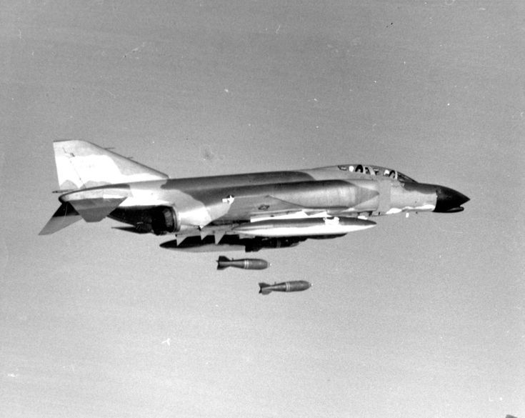 Operation Rolling Thunder - Bombing Resumes in Vietnam. Photograph VA061405, No Date, George H. Kelling Collection, The Vietnam Center and Archive, Texas Tech University.