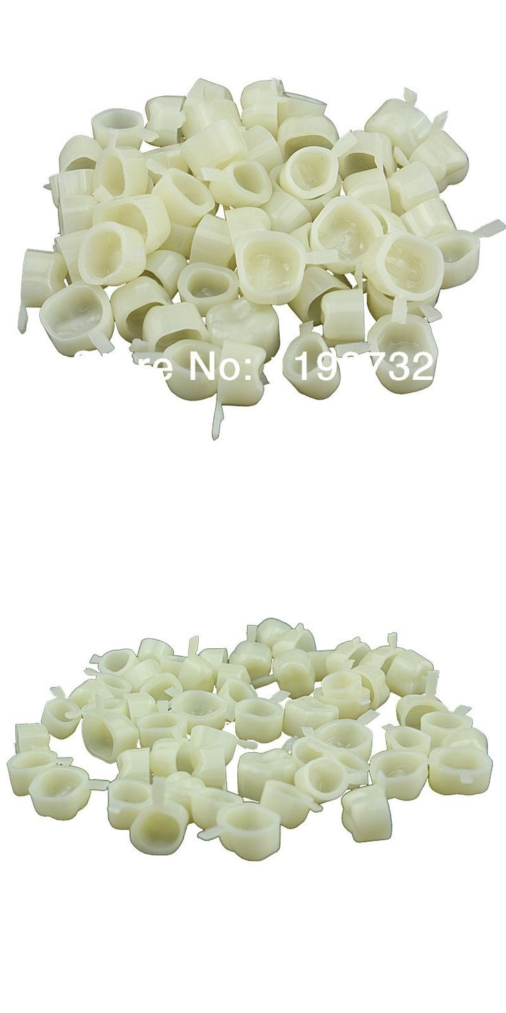 200 Pcs Dental Materials Mixed Type Temporary Crown Tooth Molar Posterior Veneer Teeth Whitening Dentist Products