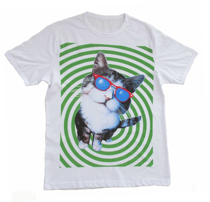 We love this Crazy Cat t shirt purrrrfect for the weekend
