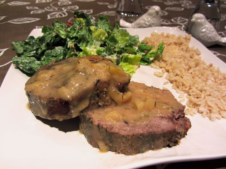 everything annie.: Jurrasic Pork Roast from Looneyspoons