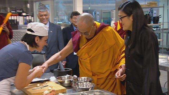 In Season 3, the contestants meet the Dalai Lama and Kylie Kwong at the same time.