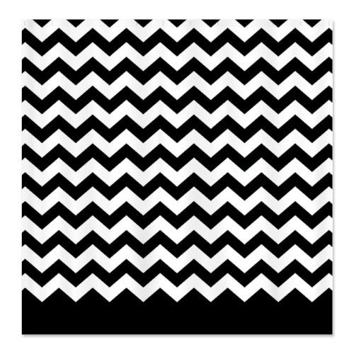 Best Black And White Chevron Shower Curtain Images On Pinterest - Black and white chevron shower curtain