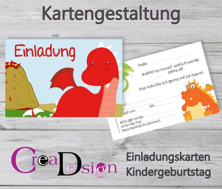 Πάνω από 25 κορυφαίες ιδέες για einladungskarten kindergeburtstag, Einladungsentwurf