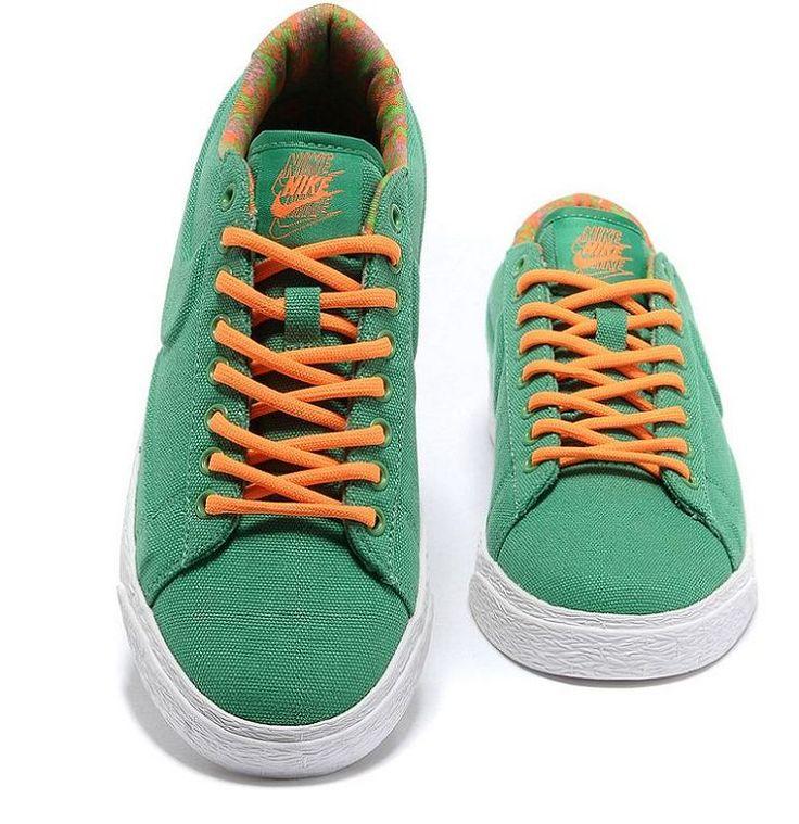 Nike Blazer VT Basse Femme Vert [q711O]