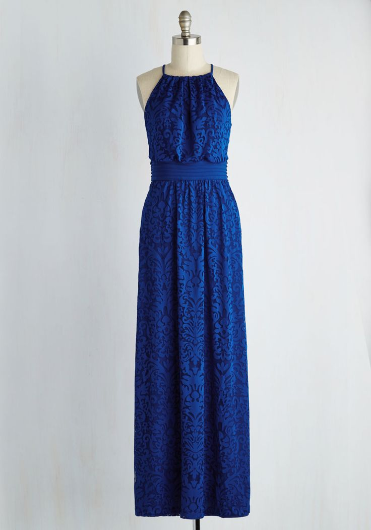 Chance to Captivate Dress in Cobalt, @ModCloth