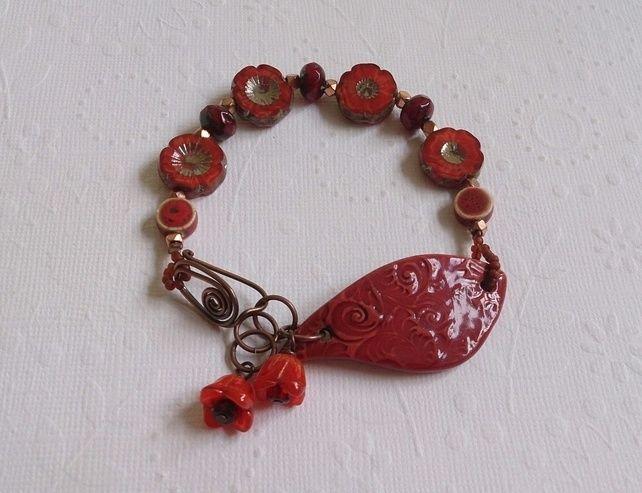 Autumnal Blooms bracelet £20.00