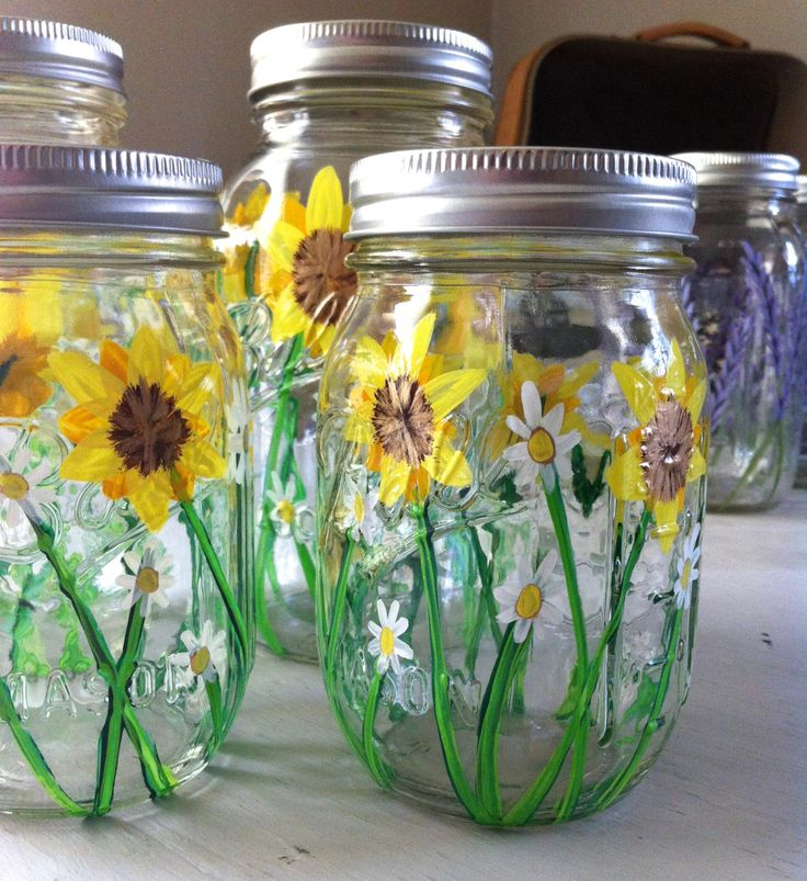 Ball Jar Wedding Decorations: 21 Best Decorated Mason Ball Jars Images On Pinterest
