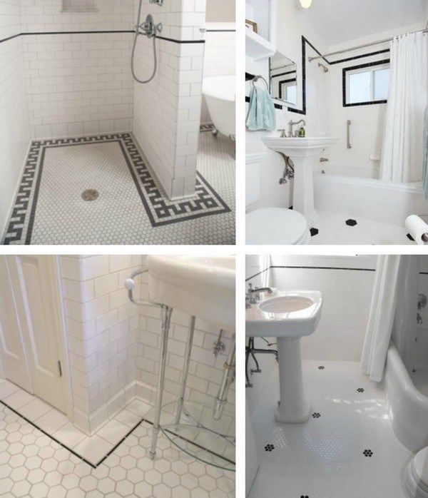 Vintage Tiles Bathroom: 81 Best Tiled Images On Pinterest