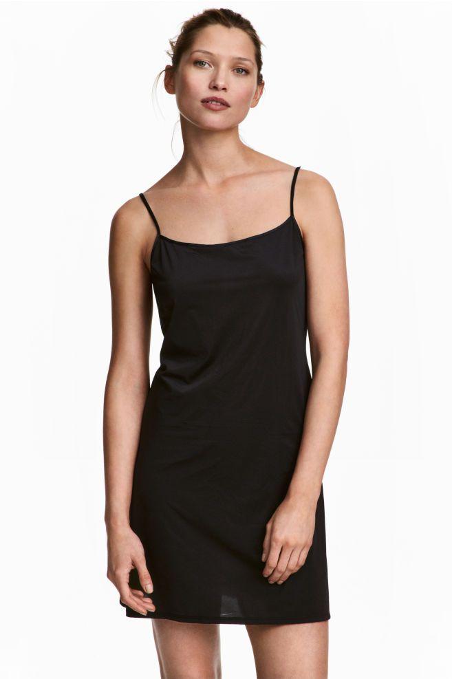 Spodnička zmikrovlákna - čierna - ŽENY | H&M SK 1