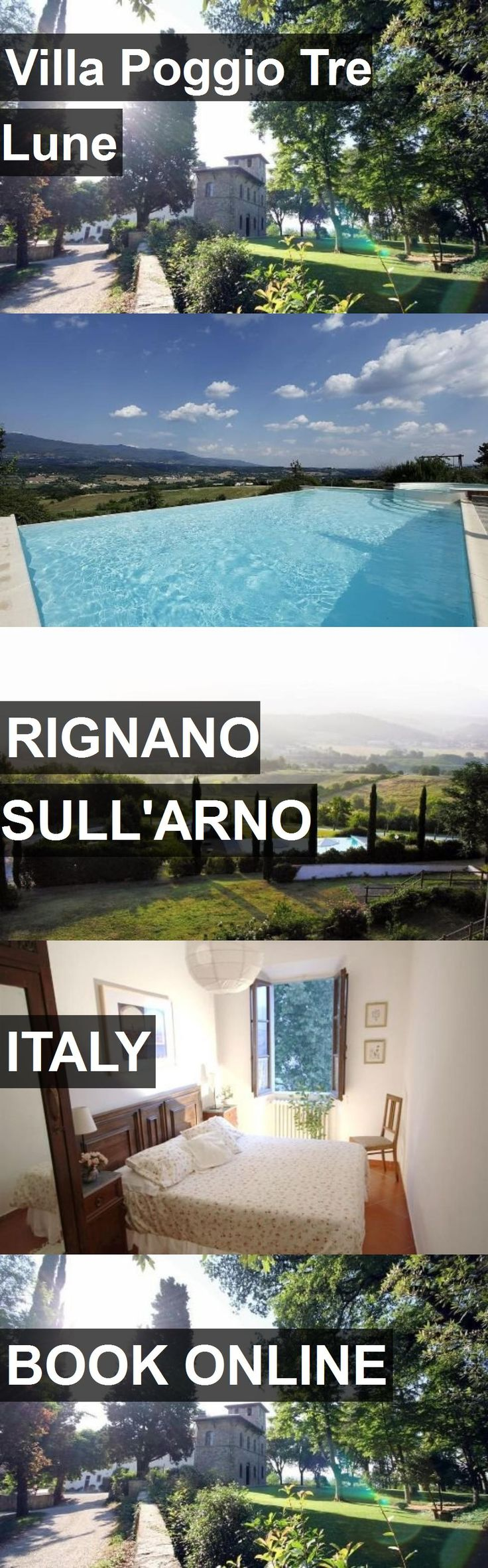Hotel Villa Poggio Tre Lune in Rignano sull'Arno, Italy. For more information, photos, reviews and best prices please follow the link. #Italy #Rignanosull'Arno #VillaPoggioTreLune #hotel #travel #vacation