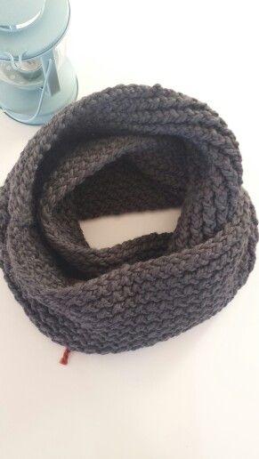 Infinity scarf in GRANITE. Order at www.facebook.com/oopsie.daisy.scarves.cards