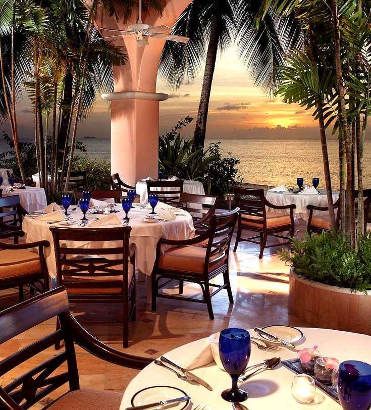 Palm Restaurant - The Fairmont Royal Pavilion, #Barbados,#Honeymoon,#Destinationwedding. www.lydiastravelerservices.com