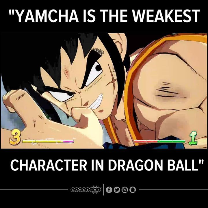 Tbh yamcha is a beast in all dbz video games  ~KingVegeta