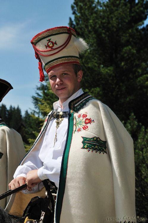 Folk costume from Podhale region, Poland.