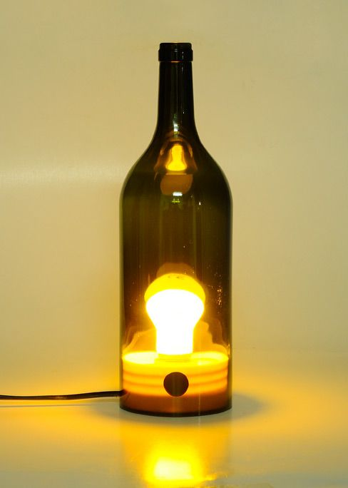 Designed lights with waste, secondhand and used objects. It is one of a kind which means unique. Designed by me.