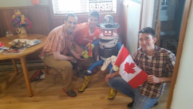 Retweeted by hitchBOT     Jean-Pierre Brien @BrienPierre     ·   Jul 28      We're going to miss this guy :( Good luck @hitchBOT  @CBCNews  @globeandmail