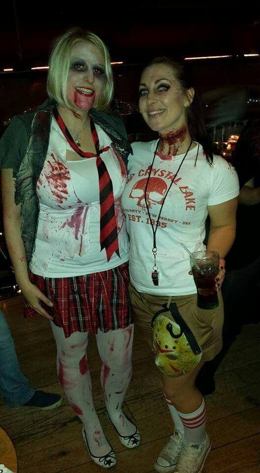 Me and my bestie: Camp crystal lake Jason Voorhees victim and zombie school girl