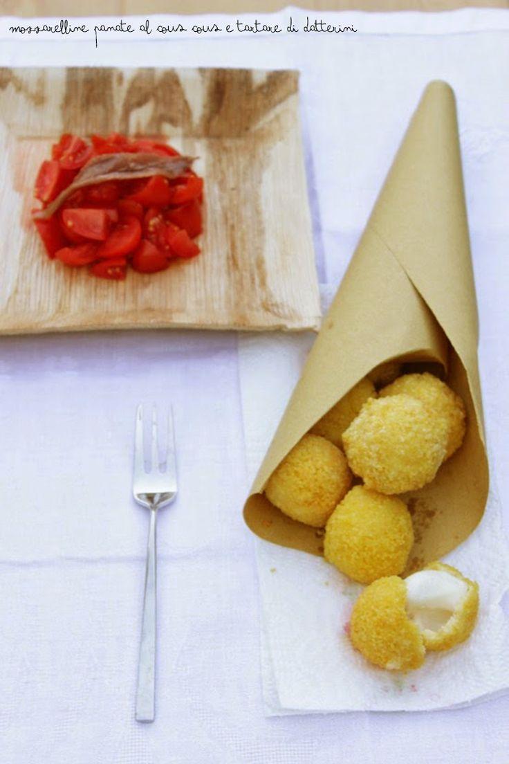 Ritorno alle origini: mozzarelline panate di cous cous | La cuisine tres jolie