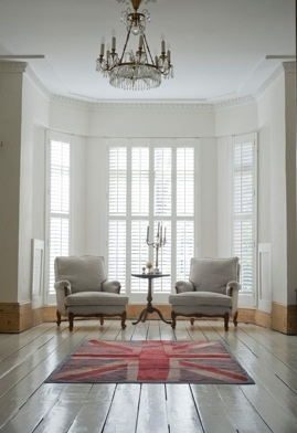 Union Jack And Chandelier Victorian TerraceVictorian EraVictorian HousesLiving Room