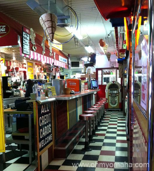 Hollywood Candy in Omaha, Nebraska - Fun place full of movie and music memorabilia and, of course, candy