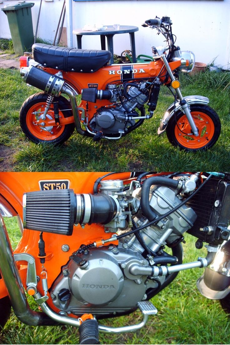174 Best Monkeybikes Images On Pinterest Honda Motorcycles Mini