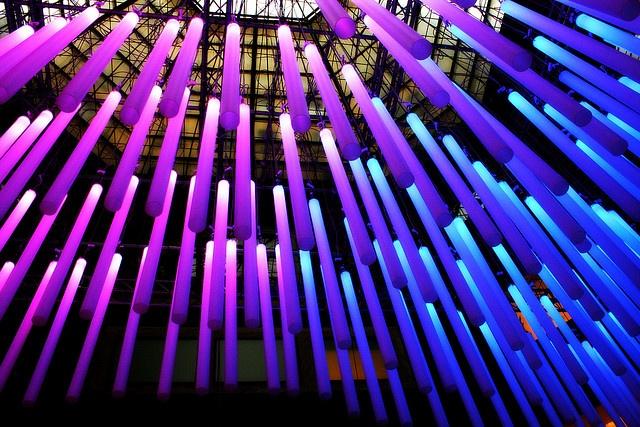 LED - light exhibition design by Virginia De Siro, via Flickr